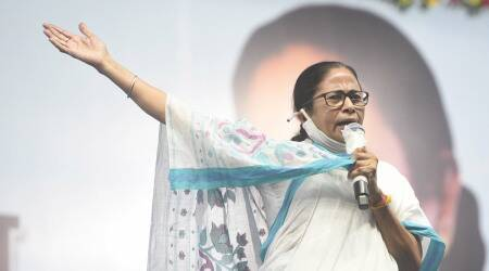 Mamata prohibited from lobbying for 24 hours