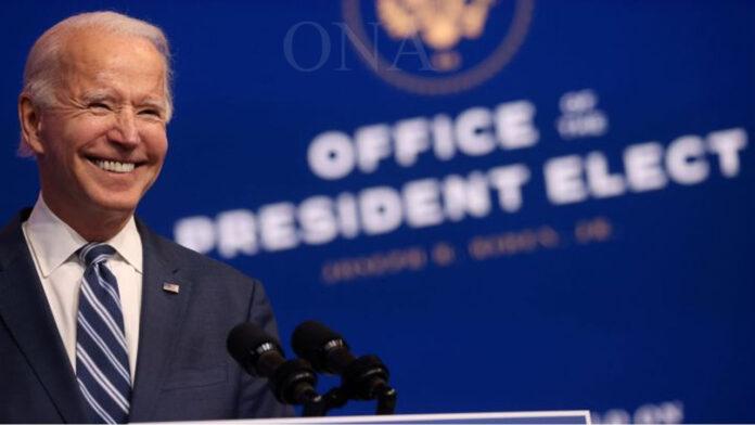 Joe Biden oath taking ceremony
