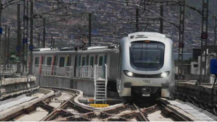 Mumbai Metro's first 'Driverless' train