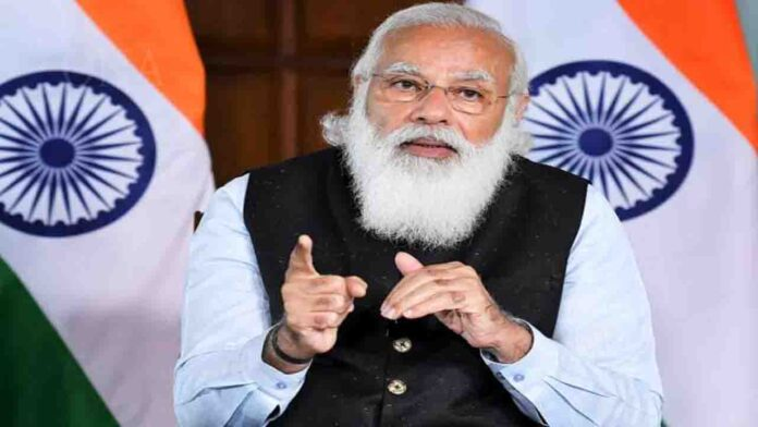 PM Modi holds meeting with CMs of 10 states