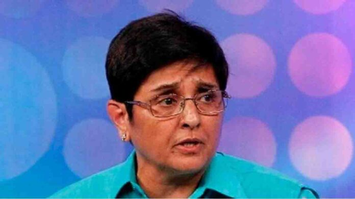 Tweets Kiran Bedi day subsequent to being eliminated as Puducherry