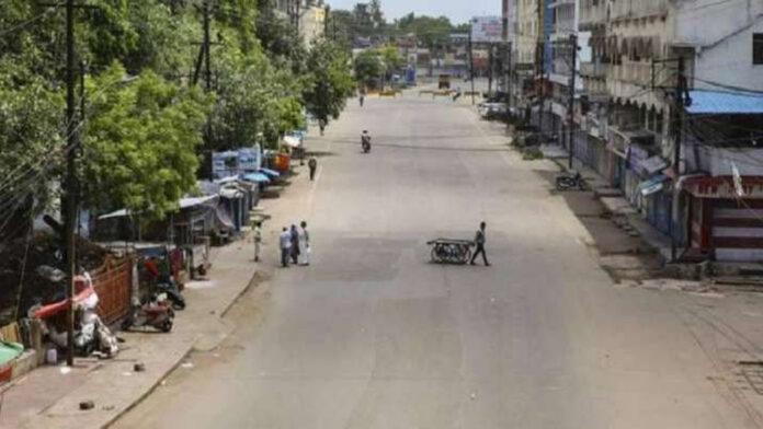 Complete lockdown in Chhattisgarh