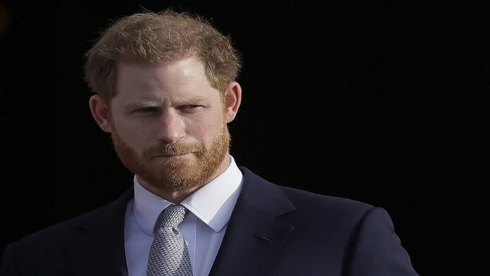 Harry shows up in UK for granddad Prince Philip's funeral