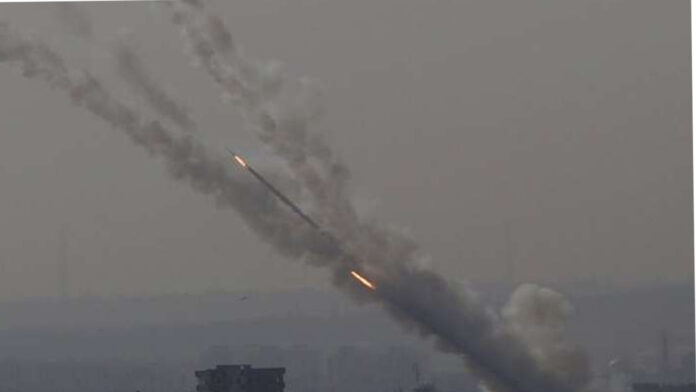 Israel terminated rockets on rural areas of capital Damascus
