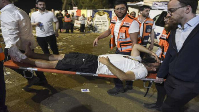 10 young men and youngsters among the dead in Israel celebration rush